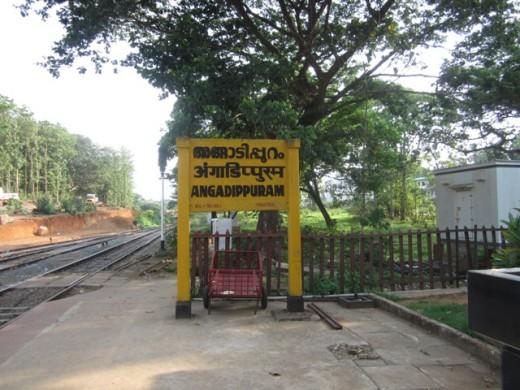 Name Board of Angadippuram