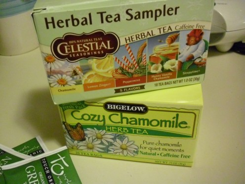 Herbal teas supply antioxidants and contribute to overall health.