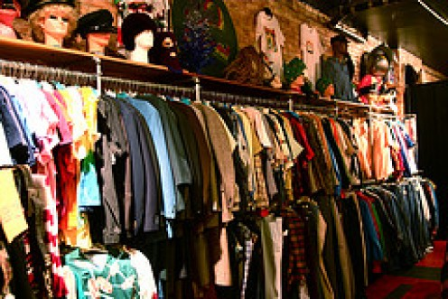 Gently used clothing are a viable option.