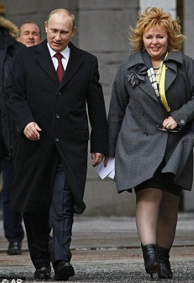 Vladimir and his wife in 2012