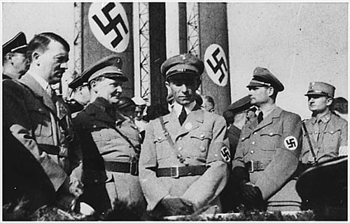 The Nazi Leadership: Hitler, Goering, Goebbels, Hess