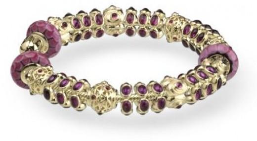 Purple Pandora Bracelet