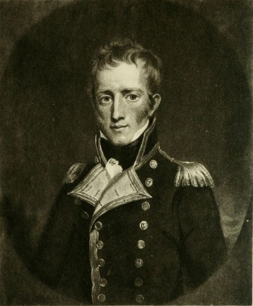 Captain Frederick Lewis Maitland, commander of the HMS Bellerophon, who accepted Napoleon's surrender in July 1815.
