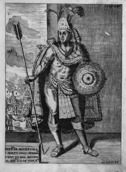 Montezuma II - The Aztec King