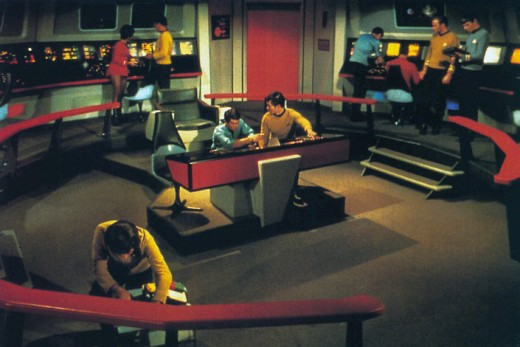 Star trek bridge