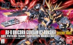 1/144 RX-0 Unicorn Gundam Banshee (Destroy mode) Kit Review