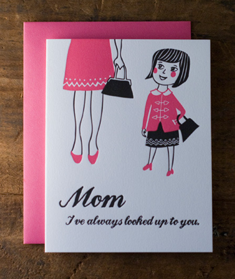 A Mother's Day card from my daughter