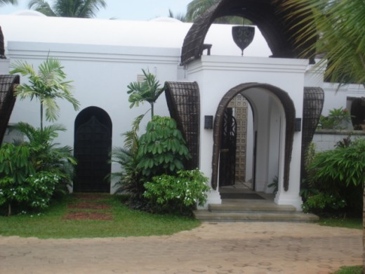 "The cottages in ""Kettuvallam"" style at Vivanta by Taj, Bekal, Kerala"
