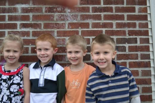 Our Older Four Children