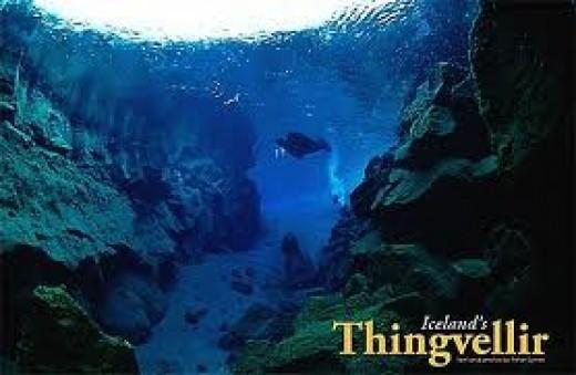 Looking upward at Thingvellir - the blueprint for Ginnungagap?
