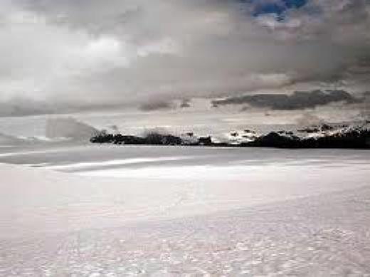 Niflheim, land of eternal mists and ice