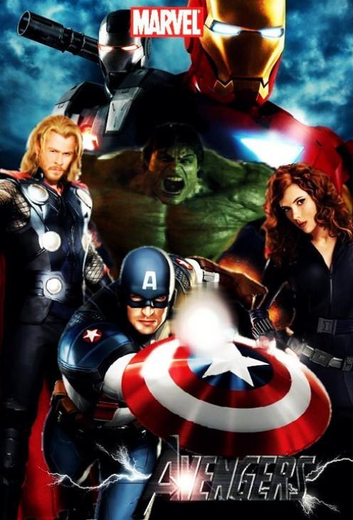 The new Avengers Poster