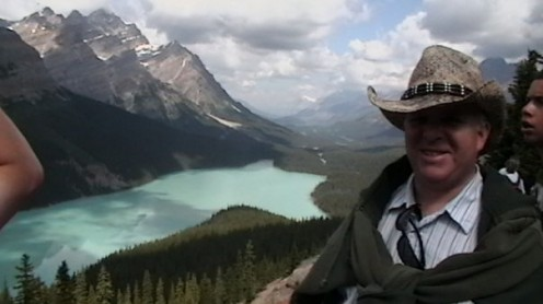 Figure 3: This is the original file which is me at Peyto Lake in Alberta Canada