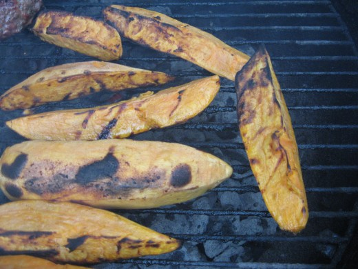 Learn how to make sweet potatoes - on the grill.