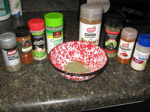 BBQ rubs - make your own!