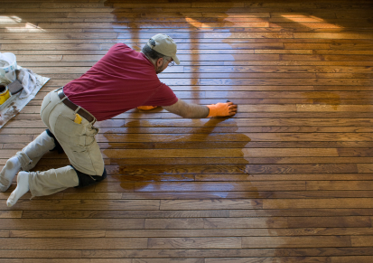 Once you've stripped the old wax away -- it's time to clean!