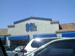 Lemon Grove 99 Cents Only store.