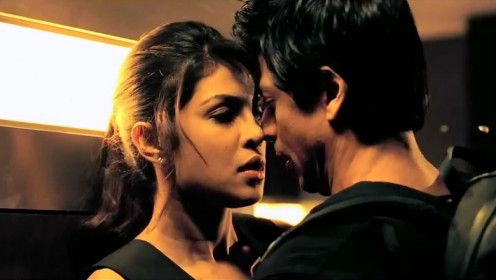Priyanka Chopra and Shahrukh Khan in Don 2.