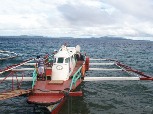 Boats to Islands at Surigao City