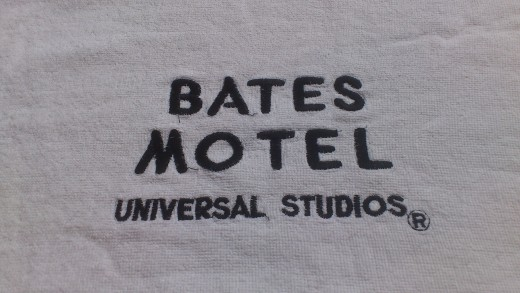 Genuine Bates Motel towel