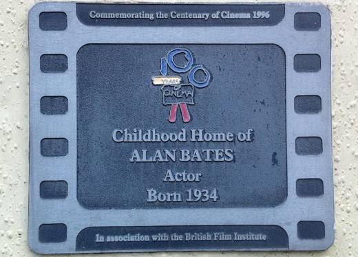 Plaque on Childhood Home.