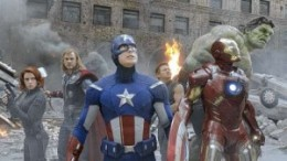 The Avengers come together to fight a massive army of Loki's alien invaders.