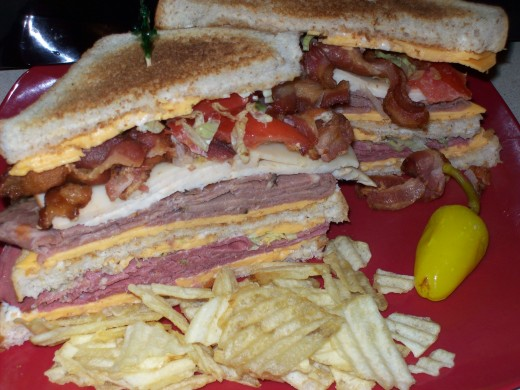 How To Make A Classic Club Sandwich