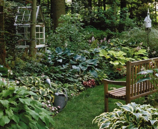 Country garden ideas pictures photograph garden design ide for Help me design a garden