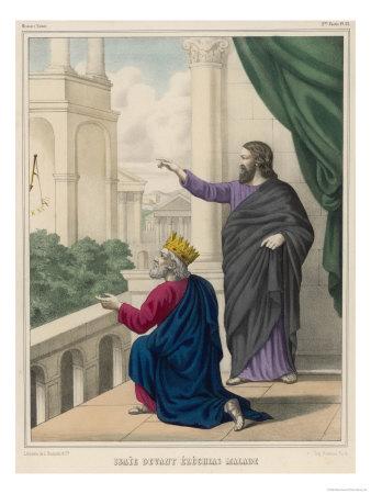 King Hezekiah and Isaiah
