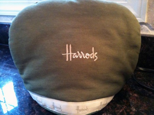 Bought at Harrods at Heathrow airport, London. Can be bought online. See links at end.