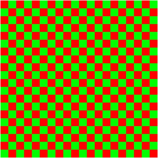 square regular tessellation