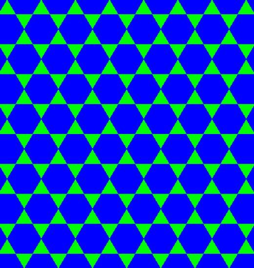 semi regular tessellation