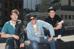 For the majority of its career, the group has consisted of MCs Michael Diamond, known as Mike D (vocals, drums), Adam Horovitz, known as Ad-Rock (vocals, guitar), and Adam Yauch, known as MCA (vocals, bass, double bass)