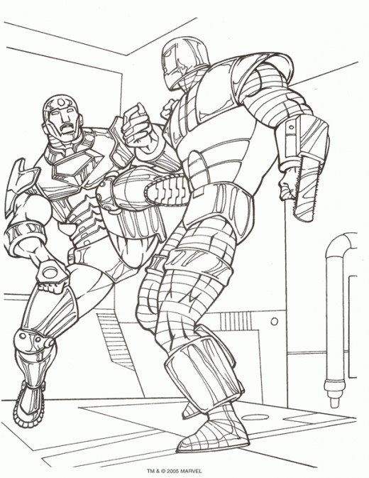 Coloring Pages Of Marvel Avengers : Free coloring pages of marvel avengers