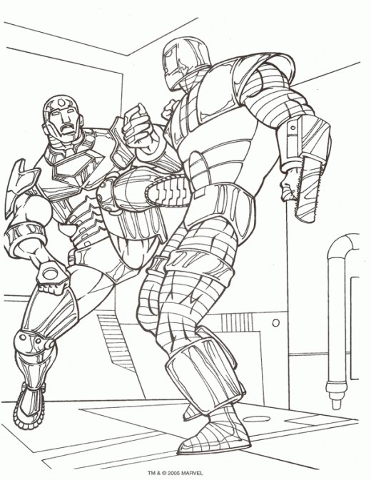 Coloring Pages Marvel Avengers : Free coloring pages of marvel avengers