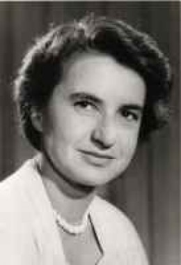 Rosalind Franklin (National Library of Medicine photo)