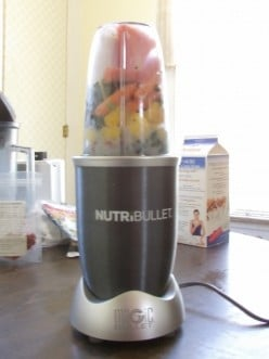 Awesome Nutribullet juicer, It creates the best juices for nutrient absorption