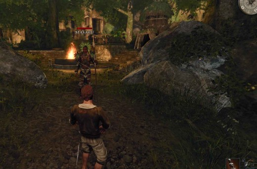 Risen 2 The Natives Quest Involves Getting to Shaganumbi Village