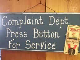 Constant Complaining