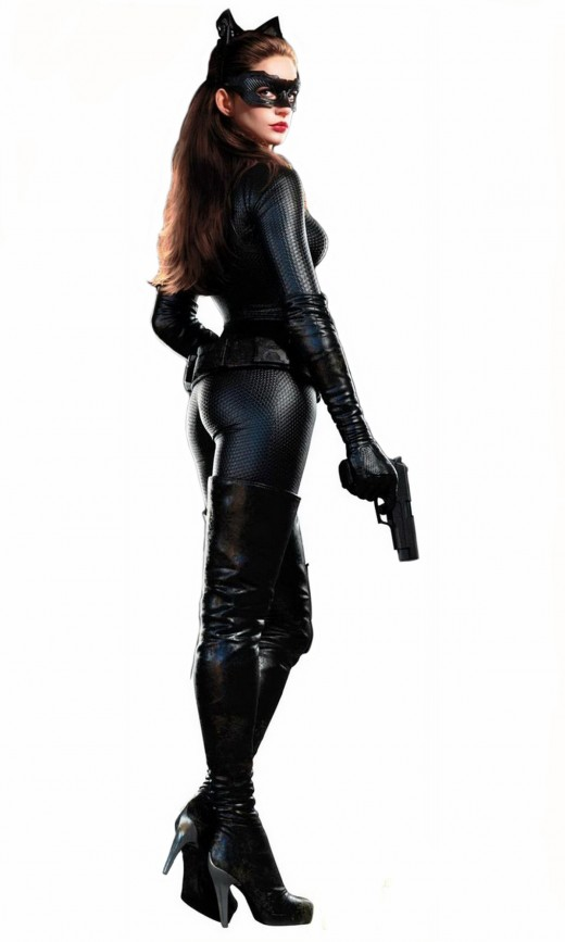 New Pic of Anne Hathaway as Catwoman in The Dark Knight Rises. Copyright Warner Bros.