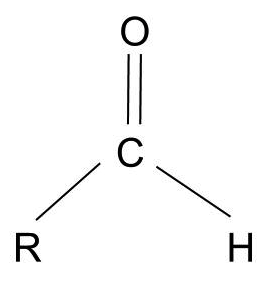 The general formula of an aldehyde