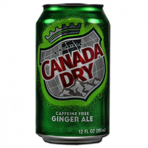 A can of Ginger Ale