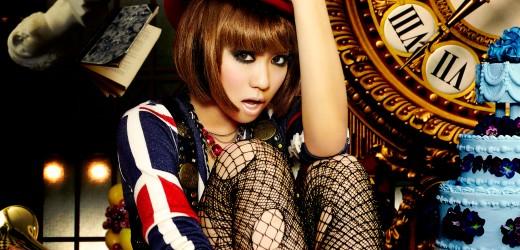 "Kumi Koda promoting her 9th album ""Dejavu""."