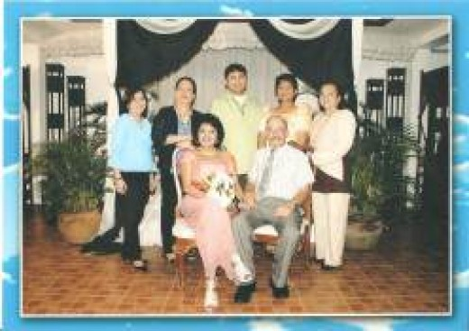 Wedding day, October 5, 2011; with my colleagues and family as witnesses.