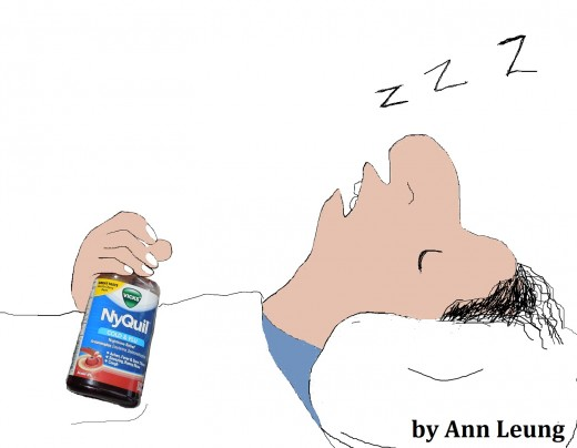 NyQuil can guarantee you a good night sleep when you have a cold/flu.