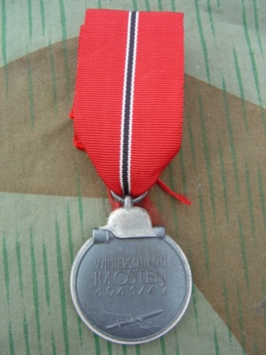 German medal for service on the Russian Front