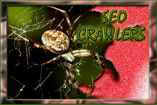 "Crawlers seemingly ""crawl"" to every nook and cranny on the web to find the best path (that is also the fastest) to the information the searcher is looking for."