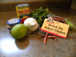 What you need to make this simple but delicious salsa