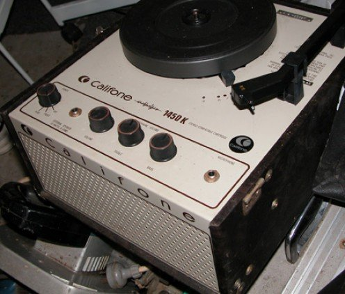 Original Califone valve record player