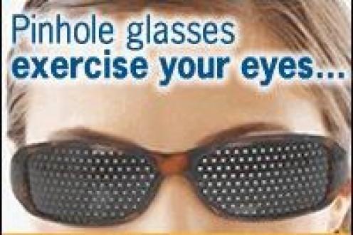 Pinhole Glasses Exercise Eyes